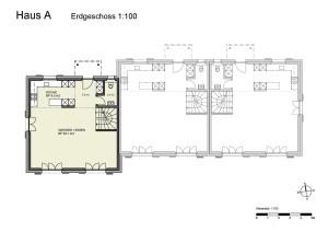 Haus A Erdgeschoss 1-100