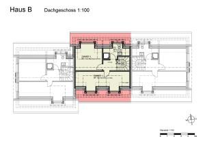Haus B Dachgeschoss 1-100