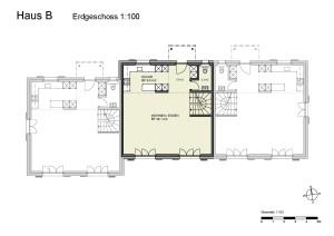 Haus B Erdgeschoss 1-100