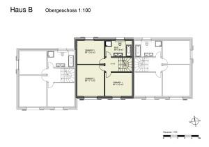Haus B Obergeschoss 1-100
