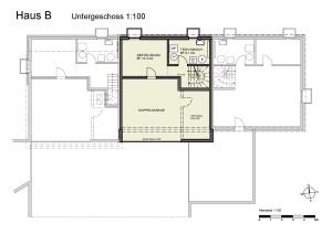 Haus B Untergeschoss 1-100