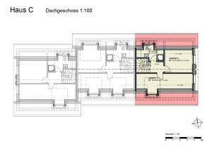 Haus C Dachgeschoss 1-100