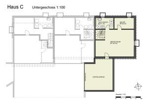 Haus C Untergeschoss 1-100